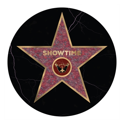 Hollywood Star Floor Graphics (8 per pack)