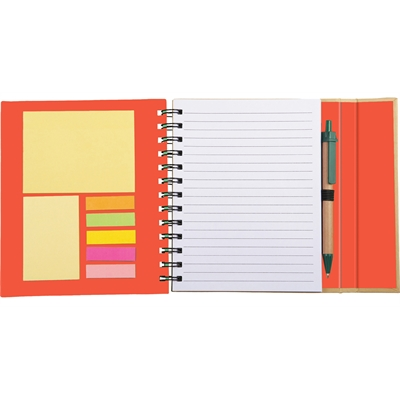 Lock-it Spiral Notebook with Pen