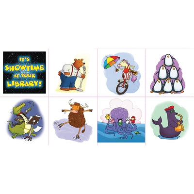 Stickers (20 sheets per pack)