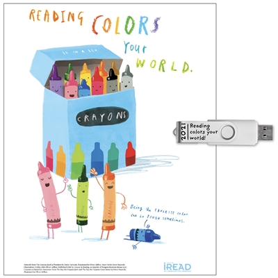 Reading Colors Your World (Downloadable Resource Guide and Graphics)